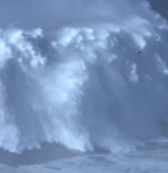 Najwyższa fala okiełznana przez surfera! Nowy rekord świata!